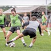 Manchester's New VT Fusion Women's Soccer Team Scores for the Community