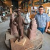Norwich University and Vermont Granite Museum Team Up to Train Stone Carvers