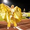 Performers in Drag Shine at Burlington High School Halftime Ball
