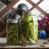 Farmers Market Kitchen: Sweet-and-Sour Pea-kles With Wild Chamomile