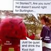Artwork Mocks Burlington City Officials for 'Drinking the Kool-Aid'