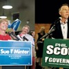 VPR Poll Shows Tie in Governor's Race, 28-Point Lead for Clinton