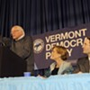 Sander Fires Up Montpelier Crowd for Vermont Democrats