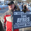 Tom Ayres Plans to Move, Resign From Burlington City Council