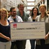 Vermont Restaurant Week Donates $21,380 to the Vermont Foodbank