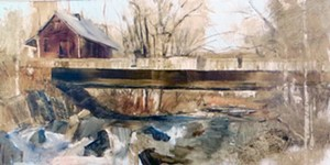 COURTESY OF MAIN STREET ARTS - Untitled painting by Beth Bathe