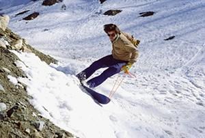 COURTESY OF BURTON SNOWBOARDS - Jake Burton photo, late 1970s