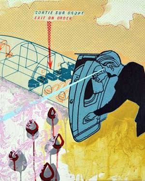 "COURTESY OF VERMONT ARTS COUNCIL - ""Exit on Order,"" Jason Galligan Baldwin"