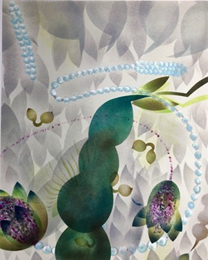 """COURTESY OF WHITE RIVER GALLERY - """"Continuum V"""" by Betsey Garand"""