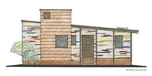 An architectural home design by Michael Wisniewski - Uploaded by vtcurator