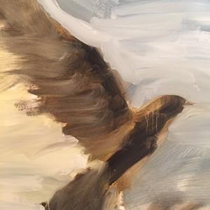 """Narrowbird"" by Maiya Keck - Uploaded by Axel's Gallery & Frame Shop"