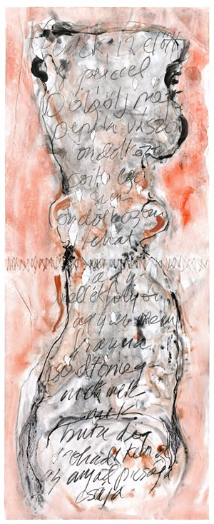 """""""Dialog With Jozsef Attila #7"""" by Diane Sophrin - Uploaded by Studio Place Arts"""