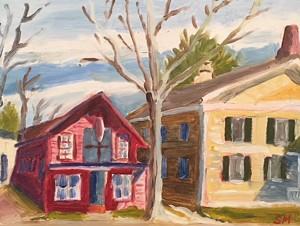 """Shelburne Craft School"" by Sid Miller - Uploaded by Sage Tucker-Ketcham"