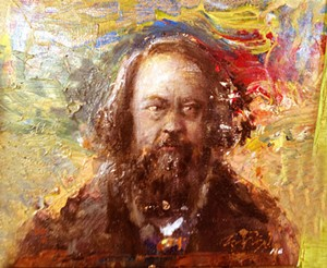 """Mikhail Bakunin"" by Nitya Brighenti - Uploaded by Studio Place Arts"