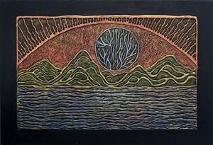 """""""Sun Series"""" by Warren Kimble - Uploaded by T. W. Wood Gallery"""