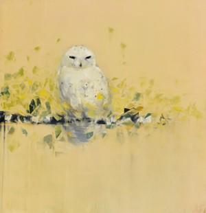 "COURTESY OF BUNDY MODERN - ""Snowy Owl"" by Rebecca Kinkead"