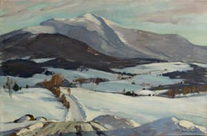 "COURTESY OF BRYAN MEMORIAL GALLERY - ""Basset Hill"" by Alden Bryan"