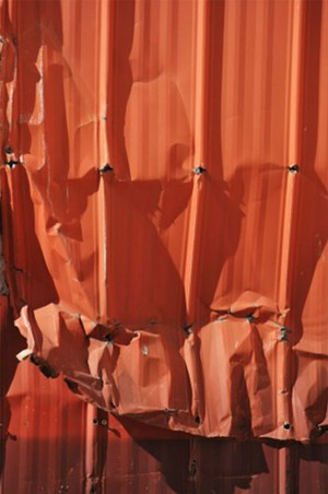 "COURTESY OF MARYELLEN SULLIVAN - ""Orange Draperies,"" photograph by Maryellen Sullivan"
