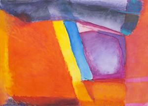 "COURTESY OF MILES MCENERY GALLERY, NY - ""Marrow of the Day,"" oil on canvas by Emily Mason"