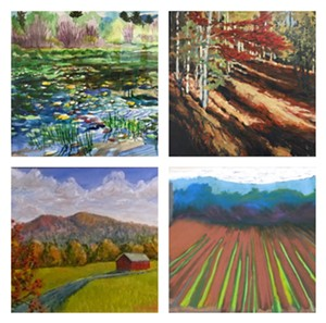 Paintings by members of the Odanaksis artists' group - Uploaded by bcook