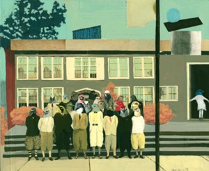 """COURTESY OF VERMONT ARTS COUNCIL - """"Class Photo"""" by Hannah Morris"""