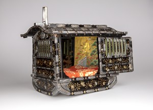 COURTESY OF FLEMING MUSEUM OF ART - Model litter, Japanese, from Fleming permanent collection
