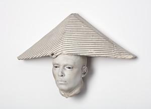 """""""Cabeza"""" by Cristina Cordova - Uploaded by Helen Day Art Center"""