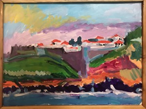 """COURTESY OF BOW THAYER - """"Angra do Heroísmo, Azores"""" by Bow Thayer"""
