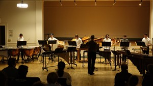 UVM Percussion Ensemble - Uploaded by uvmmusicdance