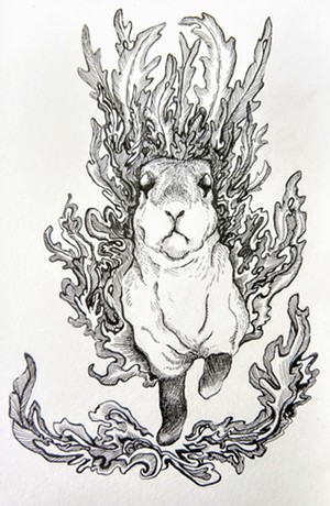 """""""From the Fire"""" by Kristin Richland - Uploaded by Thirty-odd"""