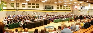200 Handbell Ringers perform in Concert - Uploaded by mary jane w