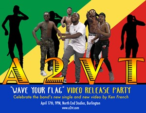 """A2VT - """"Wave Your Flag"""" Video Release Party - Uploaded by mellyell1"""
