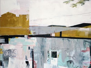 """COURTESY OF VERMONT ARTS COUNCIL - """"Doors Round Back"""" by Kate Birnim"""