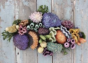 "COURTESY OF NEK ARTISANS GUILD - ""Coral Garden"" by Rachel Laundon"