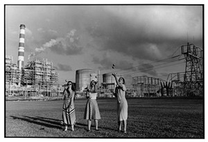 "COURTESY OF BMAC - ""Turkey Point Nuclear Power Plant, Miami, Florida,"" 1980, by Dona Ann McAdams"