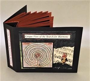 COURTESY OF THE S.P.A.C.E. GALLERY - Book art by Rebecca Boardman