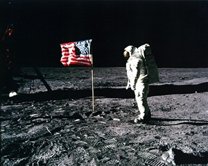 Celebrate our first lunar steps! - Uploaded by montshiremuseum