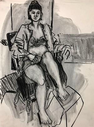 """COURTESY OF RIVER ARTS - """"Luca"""" by Marie LaPré Grabon"""