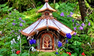 COURTESY OF HENRY SHELDON MUSEUM - A fairy house by Sally J. Smith