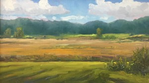 """COURTESY OF EMILE A. GRUPPE - """"Southtown Fields"""" by Fiona Cooper Fenwick"""