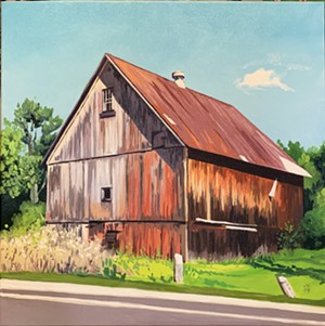 "COURTESY OF RIVER ARTS - ""Flywheel Farm"" by Jennifer Hubbard"