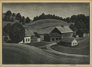 "COURTESY OF BENNINGTON MUSEUM - ""Summer Sabbath"" by Asa Cheffetz"