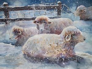 """COURTESY OF TUNBRIDGE PUBLIC LIBRARY - """"Chilly Night"""" by Kate Reeves"""