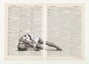 """COURTESY OF THE MONTRÉAL MUSEUM OF CONTEMPORARY ART - Still from """"Second-hand Reading"""" by William Kentridge"""