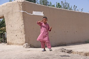 """COURTESY OF MAC - """"Children's Game 10 / Papalote (Kite)"""" by Francis Alÿs"""