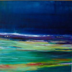 "COURTESY OF HELEN DAY ART CENTER - ""Mindful"" by Elaine Ittleman"