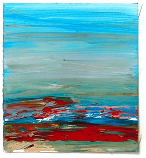 COURTESY OF AVA GALLERY AND ART CENTER - A painting by Ben Frank Moss