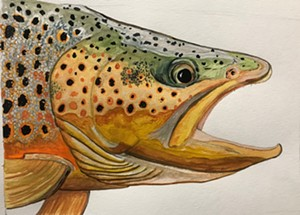 Watercolor by Courtney Allenson - Uploaded by townhalltheater