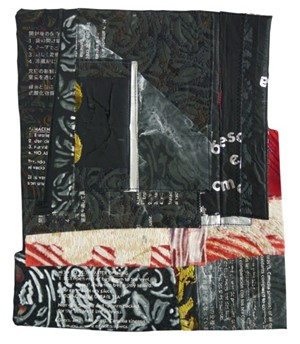 """COURTESY OF CHANDLER GALLERY - """"Black, White and Read All Over"""" by Elizabeth Fram"""