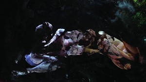 """COURTESY OF OVERNIGHT PROJECTS - Still from """"Conceal/Reveal"""" by Dana Heffern and Rebecca Weisman"""